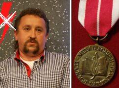 Medal Komisji Edukacji Narodowej za walkę o apolityczność szkoły
