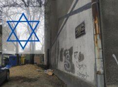 Ułożą z żonkili gwiazdę Dawida pod tablicą upamiętniającą synagogę