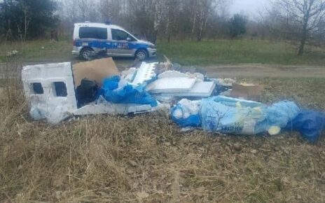 Straż Miejska mandat za śmieci