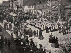 Tak podczas I wojny w Pabianicach obchodzono święto 3 Maja